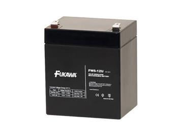 akumulátor FUKAWA FW 5-12 U (12V; 5Ah; faston F2-6,3mm; životnost 5let)
