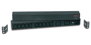 APC Rack PDU,Basic, 1U, 16A, C20 -> (10)C13 & (2)C19