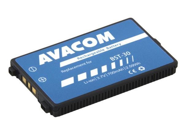 bf61d45e80462 Avacom baterie do mobilu Sony Ericsson K700 Li-Ion 3,7V 700mAh (náhrada  BST-30)