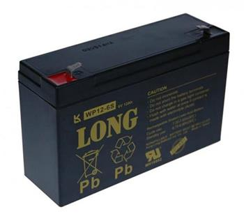 Baterie Long WP12-6S (6V/12Ah - Faston 187)