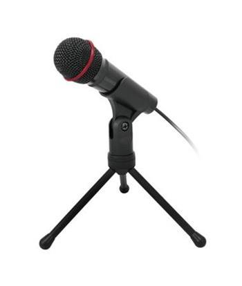 C-TECH Stolní mikrofon MIC-01, 3,5mm stereo jack,