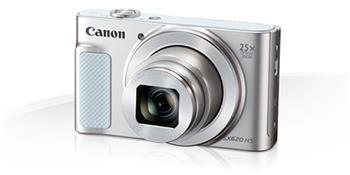 Canon PowerShot SX620HS, White - 20MP, 25x zoom + pouzdro Canon DCC-1500