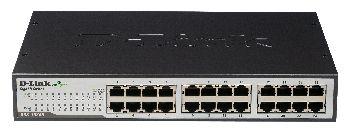 D-Link DGS-1024D/E 24-Port 10/100/1000Mbps Copper Gigabit Switch