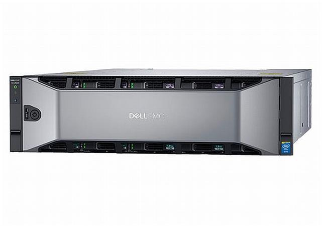 DELL Compellent SCv3020/7x600GB_15k/2x 10Gb iSCSI/2x1485W