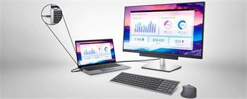 """Dell P2721Q Ultra HD 4k 27""""/(3840 x 2160 s 60Hz) 8ms/1000:1/2xHDMI/DP/4xUSB 3.0/USB-C/DOCK/IPS panel/cerny"""