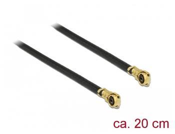 Delock Anténní kabel MHF IV/HSC MXHP32 kompatibilní samec > MHF IV/HSC MXHP32 kompatibilní samec 20 cm 1,13