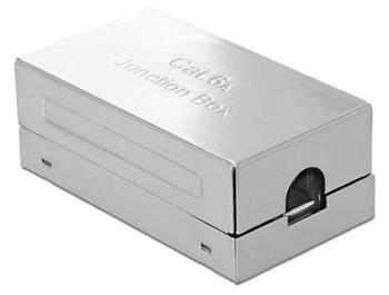 Delock Spojovací krabice pro síťový kabel Cat.6A LSA STP