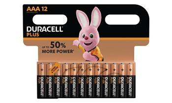 Duracell MN2400B12 Duracell Plus AAA 12 Pack