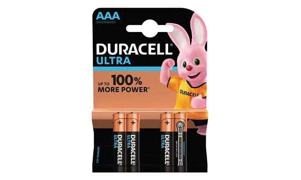 Duracell MX2400B4 Duracell Ultra AAA 4 Pack