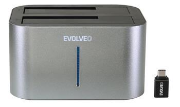 EVOLVEO Dion 2, 10Gb/s, dokovací stanice, USB 3.1