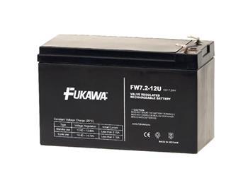 FUKAWA FW 7,2-12 F2U (12V; 7,2Ah; faston 6,3mm; životnost 5let)