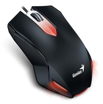 GENIUS Gaming myš X-G200/ drátová/ 1000 dpi/ USB/