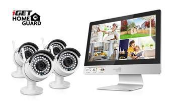iGET HOMEGUARD HGNVK49004 - Bezdrátový kamerový WiFi systém s LCD monitorem iGET HOMEGUARD HGNVK49004
