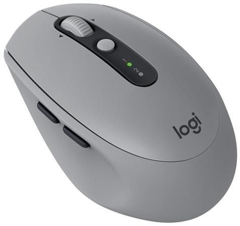 Logitech myš M590 Silent, optická, 7 tlačítek, mid gray, 1000dpi