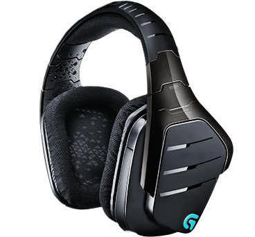Logitech náhlavní souprava Gaming G933 Artemis Spectrum, bezdrátová, černá