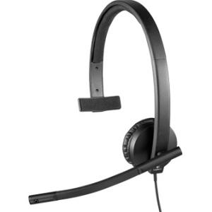 Logitech náhlavní souprava USB H570e, černá