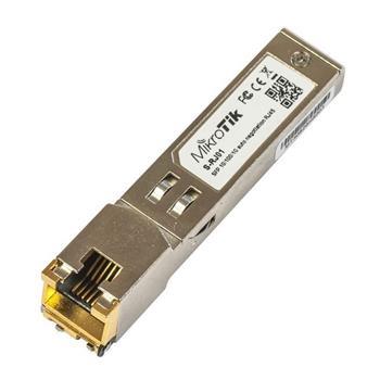 MikroTik SFP 10/100/1000M metalický modul S-RJ01, RJ-45, 100m, 1.25Gbps