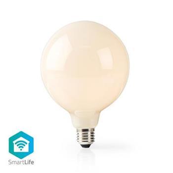 Nedis WIFILF11WTG125 - Wi-Fi Chytrá LED Žárovka | E27 | 125 mm | 5 W | 500 lm | Teplá Bílá