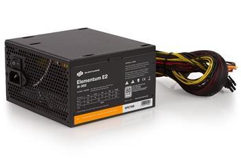 SilentiumPC zdroj 350W / Elementum E2 / 120mm fan / Akt. PFC / 80PLUS EU / Bulk balení
