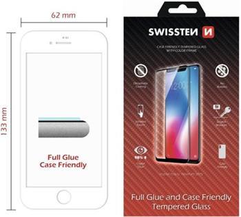 SWISSTEN OCHRANNÉ SKLO CASE FRIENDLY APPLE IPHONE 11 ČERNÉ