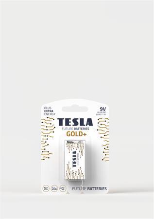 Tesla 9V GOLD+ alkalická (6LR61), 1 ks, ND