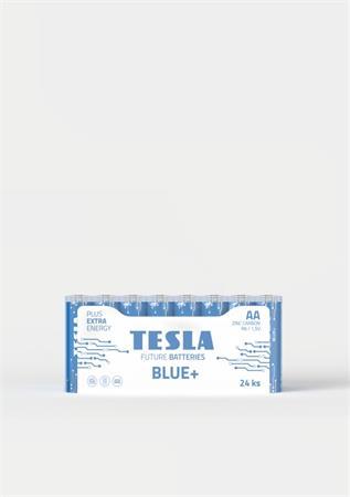 Tesla AA BLUE+ zinkouhlíková, 24 ks fólie, ND