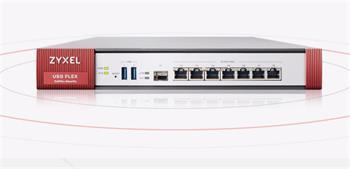Zyxel USG Flex 500 Firewall 7 Gigabit user-definable ports, 1*SFP, 2* USB with 1 Yr UTM bundle